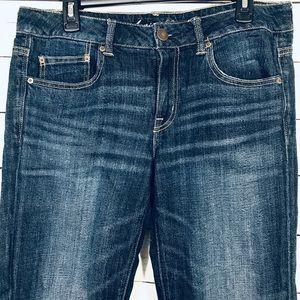 American Eagle Jeans Sz 10 Stretch Boy Fit Short